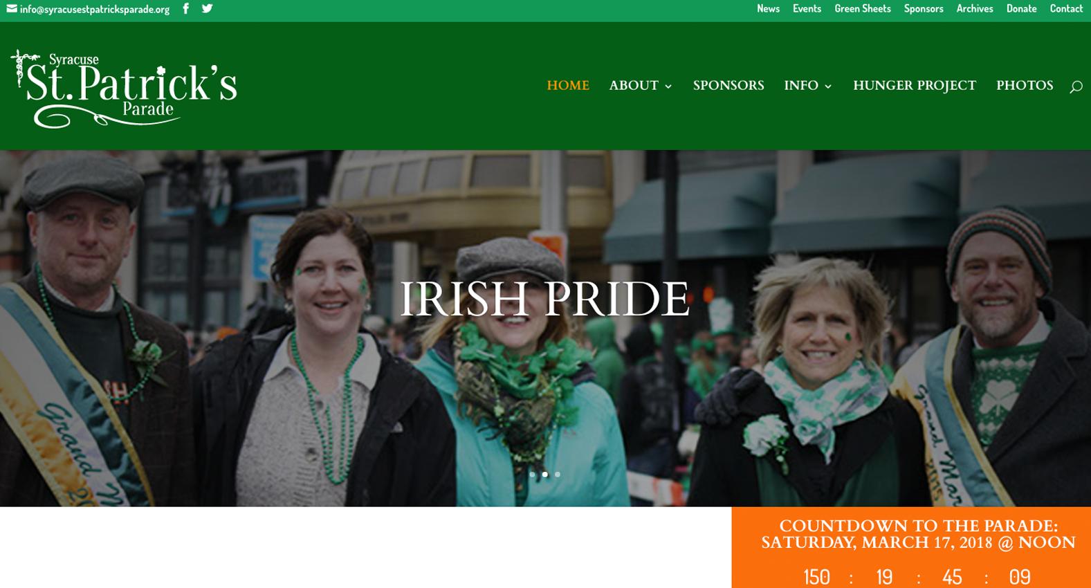 St. Patrick's Parade Day Parade