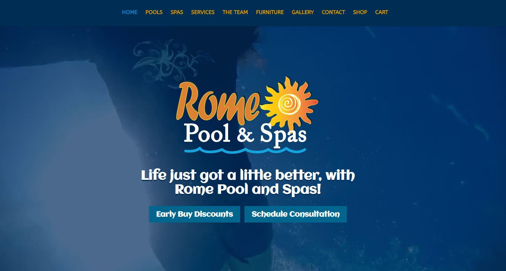 Rome Pool & Spas